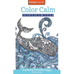 Design Originals Color Calm Mini Creative Coloring Books for Adults: Book, (model DO5568), price per each