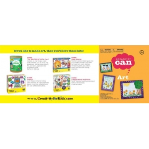 Creativity for Kids® Creativity Can® Art: 4+, Creativity Kit, (model FC3903), price per each