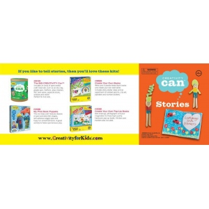 Creativity for Kids® Creativity Can® Stories: 4+, Creativity Kit, (model FC3905), price per each