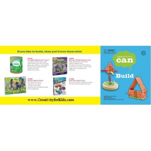 Creativity for Kids® Creativity Can® Build: 4+, Creativity Kit, (model FC3907), price per each
