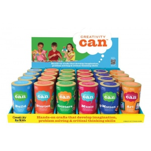 Creativity for Kids® Creativity Can® Themed Display Assortment: 4+, Creativity Kit, (model FC3910D), price per each