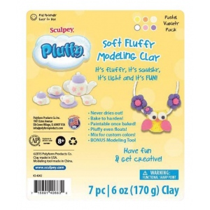 Sculpey® Pluffy® Variety Pack