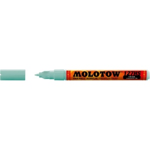 MOLOTOW™ 1.5mm Crossover Tip Acrylic Pump Marker Lago Blue Pastel (020): Blue, Paint, Refillable, 1.5mm, Fine Nib, Paint Marker, (model M127415), price per each