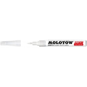 MOLOTOW™ Empty Chisel Marker: Refillable, Chisel Nib, Paint Marker, (model M211012), price per each