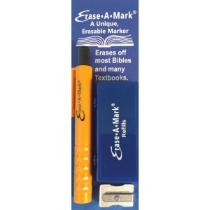 Erase-A-Mark® Book & Bible Marking Set: Multi, Clamshell, Marking, (model MARK58), price per set