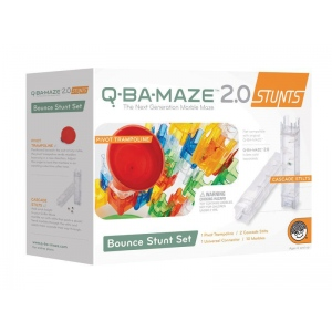 Mindware® Q-BA-MAZE™ 2.0 Bounce Stunt Set: Marble, (model MW56195), price per set