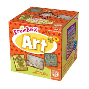 Mindware® Brain Box® Art Trivia Game: Trivia, (model MW68464), price per each
