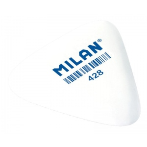 Milan Triangular Synthetic Rubber Eraser Display