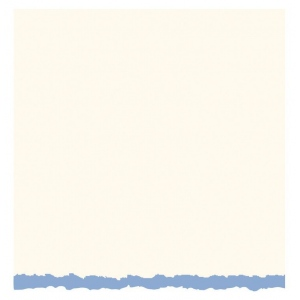 "Strathmore® 3.5 x 4.875 White/Blue Deckle Creative Cards: Blue, White/Ivory, Envelope Included, Card, 10 Cards, 3 1/2"" x 4 7/8"", 80 lb, (model ST105-13), price per 10 Cards"