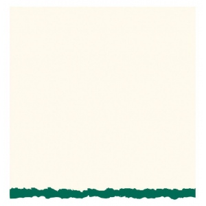 "Strathmore® 3.5 x 4.875 White/Emerald Decker Creative Cards: Green, White/Ivory, Envelope Included, Card, 10 Cards, 3 1/2"" x 4 7/8"", 80 lb, (model ST105-8), price per 10 Cards"