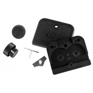 Alvin® Straightedge Replacement End Cap Kit: Straightedge, (model SEK15), price per set