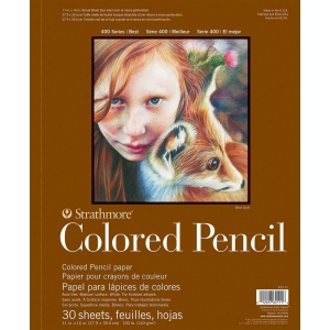 Strathmore® 400 Series Wire Bound Colored Pencil Pad