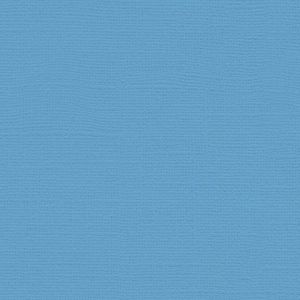 "My Colors Canvas 80 lb. Textured Cardstock Madras Blue 12 x 12: Blue, Sheet, 25 Sheets, 12"" x 12"", Canvas, 80 lb, (model T057728), price per 25 Sheets"