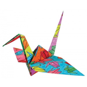 Tuttle Color Your Own Origami Kit : Origami, (model T846981), price per each