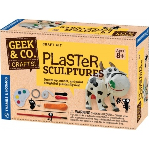 Thames & Kosmos Plaster Sculptures: Craft, (model TK553005), price per set