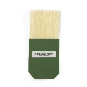 Natural Pigments Square Gilders Silver Leaf Tip Brush