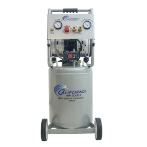 California Air Tools 10020C Air Compressor: 2.0 HP, 10.0 Gal. Steel Tank, Ultra Quiet, Oil-Free, Powerful