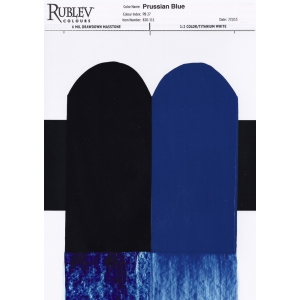 Rublev Colours Prussian Blue (MIlori Blue) 150ml - Color: Blue