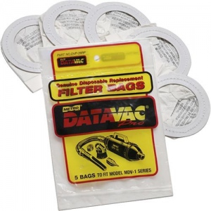 Metro Data-Vac Refill Bags: Pack of 5