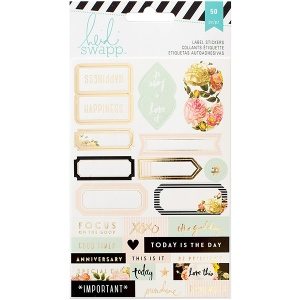 American Crafts - Heidi Swapp - Memory Planner - Labels 2/Sheets -