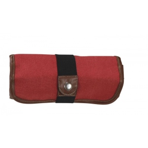 Global Art Materials™ Canvas Covered Pencil Roll Up Rose: 36 Pencils, Red/Pink, Canvas, (model 356360), price per each