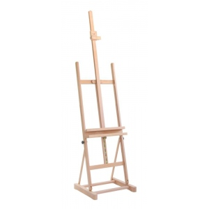 Cappelletto Studio Easel with Utility Shelf