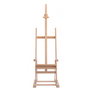 Cappelletto Medium Studio Easel with Utility Shelf