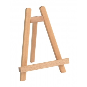 Cappelletto Mini Tabletop Display Easel: Wood, Tabletop, (model CML15), price per each