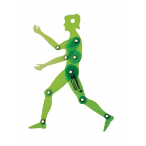 "Alvin® Female Figure 6.75"" Template: 1:10, (model TD1735BF), price per each"
