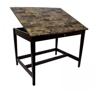 "Alvin Drawing Room Table 36"" x 48"" Marble Top"