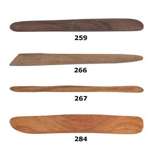 Sculpture House Custom Hardwood Tools: Set of 4