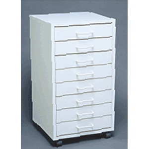 Mobile Cabinet I - Assembled: Model # U-TA8WS