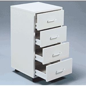 Mobile Cabinet I - Assembled: Model # U-TA14WS