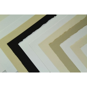 "Arches® ARCHES COVER 22x30 250G BLACK: White/Ivory, Sheet, 22"" x 30"", Medium, (model 1795151), price per sheet"