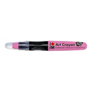 Marabu Art Crayon Rose Pink : Red/Pink, Stick, Watercolor, (model M01409003033), price per each