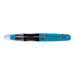 Marabu Art Crayon Turquoise: Blue, Stick, Watercolor, (model M01409003098), price per each