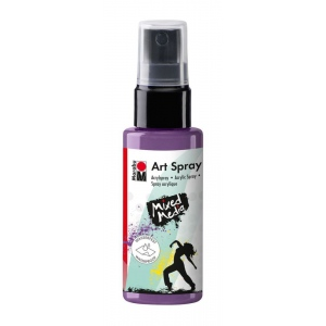 Marabu Art Spray Lavender: Purple, Bottle, 50 ml, Acrylic