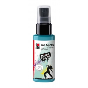 Marabu Caribbean 50 ml Art Spray: Blue, Bottle, 50 ml, Acrylic, (model M12099005091), price per each