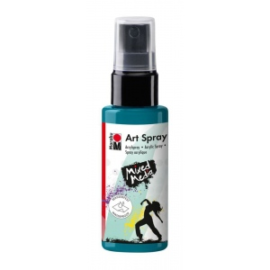 Marabu Art Spray Petrol: Blue, Bottle, 50 ml, Acrylic