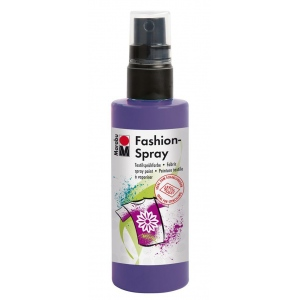 Marabu Fashion Spray Plum 100ml : Purple, Bottle, 100 ml, Fabric, (model M17199050037), price per each
