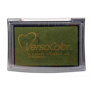VersaColor™ Pigment Ink Pad Bamboo: Brown, Pad, Pigment, Full Size Rectangle, (model VC069), price per each