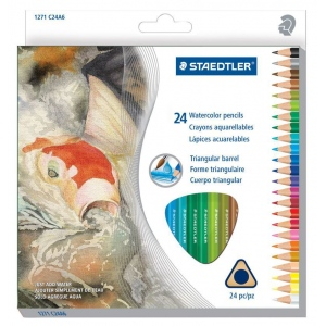 Staedtler® Triangular Watercolor Pencils Sets