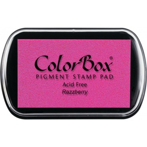 ColorBox® Full Size Ink Pad Razzberry: Red/Pink, Pad, Pigment, Full Size Rectangle