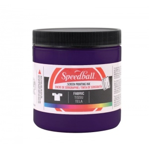 Speedball® 8 oz. Fabric Screen Printing Ink Violet: Purple, Jar, Fabric, 8 oz, Screen Printing, (model 4550), price per each