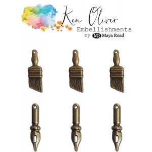 Maya Road - Ken Oliver - Vintage Charms - Art Supplies
