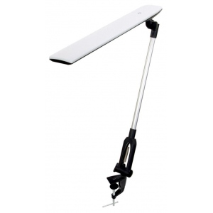 Alvin® Montauk White: White/Ivory, Clamp, LED, (model LED2-W), price per each