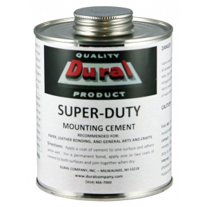Dural Super-Duty Mounting Cement 32oz: 32 oz, (model SDMC32), price per each