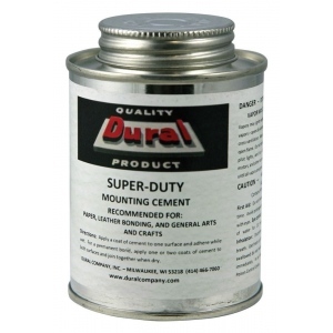 Dural Super-Duty Mounting Cement 8oz: 8 oz, (model SDMC8), price per each