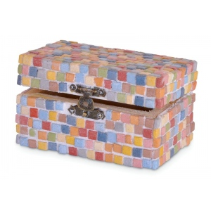 Blue Hills Studio™ Mini Mosaic Set - Multi; Color: Multi; Material: Stone (Cuttable); Type: Tile; (model BHS515), price per set