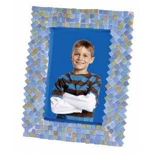 Blue Hills Studio™ Mini Mosaic Set - Blue Earth: Blue, Green, Stone (Cuttable), Tile, (model BHS516), price per set